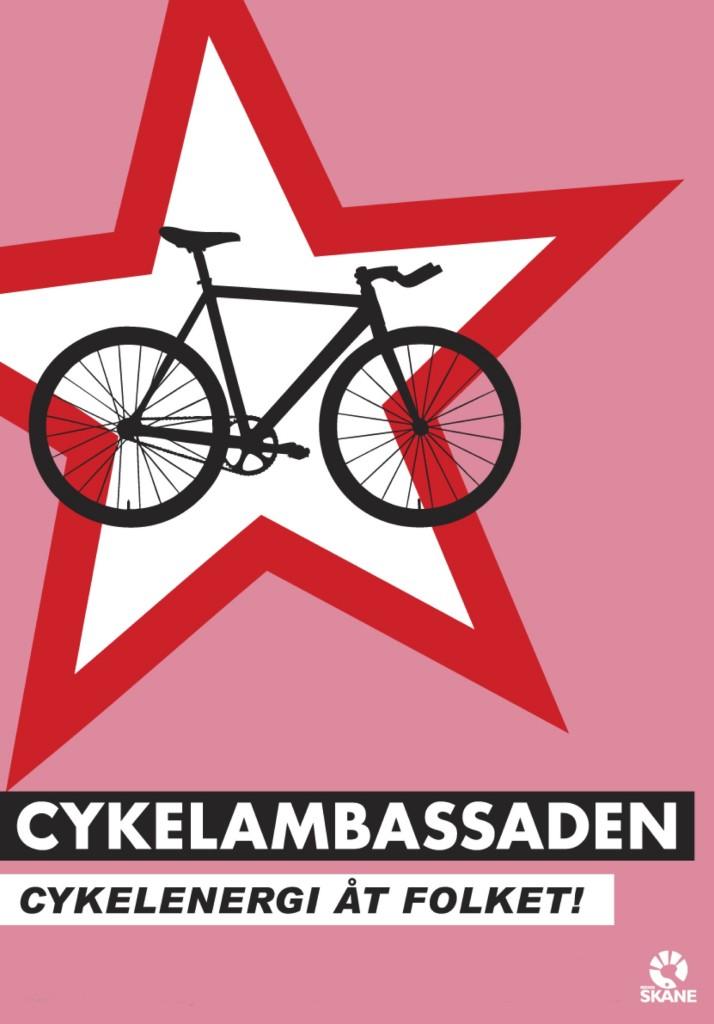 Cykelambassadenaffisch