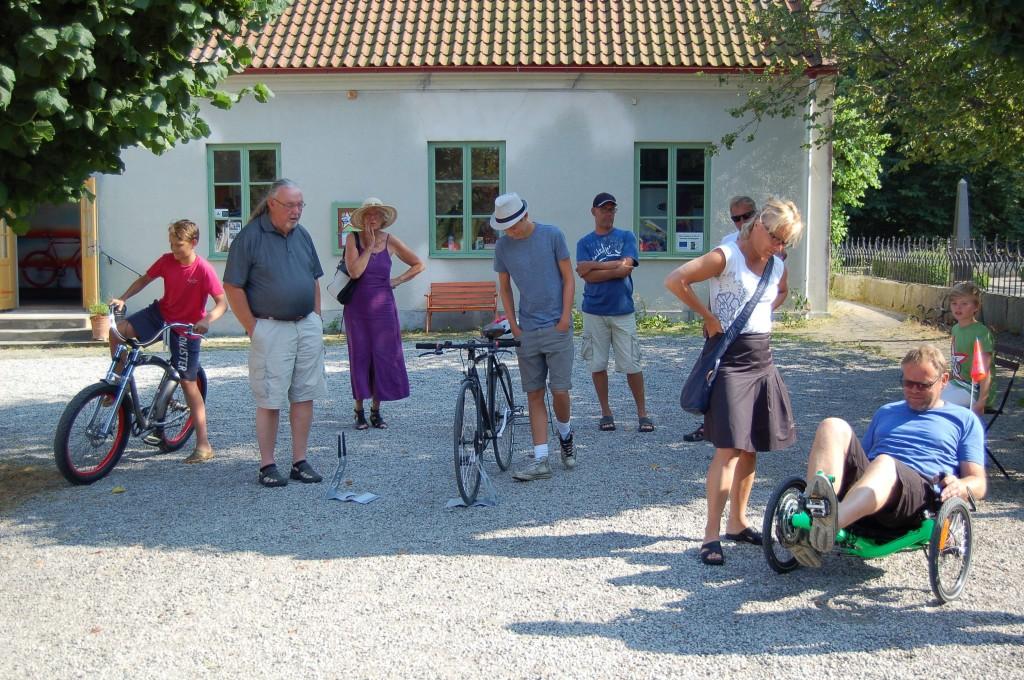 Provcykling, Cykelambassaden, Östra Hoby