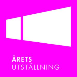 Årets utställning logo